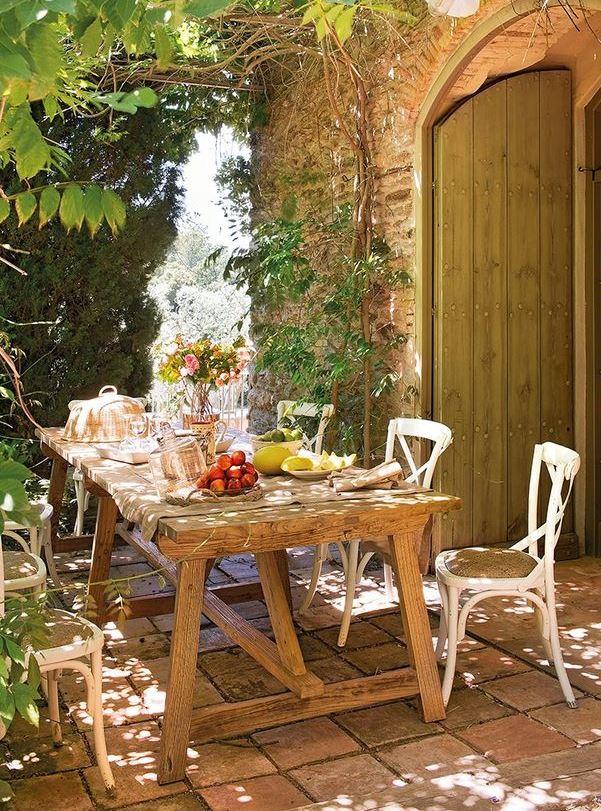 Jardines rusticos con encanto cool finca los barrancos for Jardines con encanto